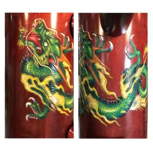 Dragon Engraving