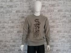 Snake & Dummy  Sweatshirt (gray)
