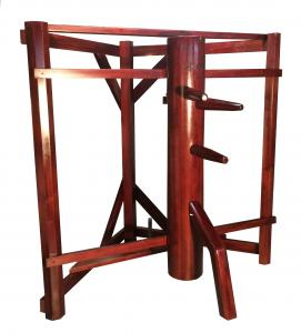 Wing Chun Dummy with Corner Stand